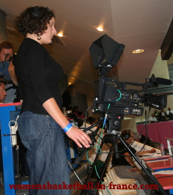 LFB TV Camera ©   womensbasketball-in-france.com