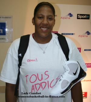 Lady Comfort © womensbasketball-in-france.com