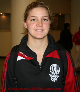 Laurie Datchy ©womensbasketball-in-france