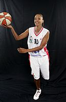 Lenae Williams USO Mondeville 2008-2009 © Ligue Féminine de BasketBall