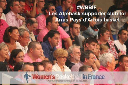 Les Atrebask sont le groupe de supporters officiels d'Arras Pays d'Artois basket