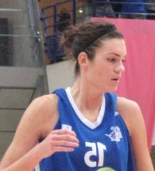 Lindsay Taylor at the Open LFB 2009 in Paris  © womensbasketball-in-france.com