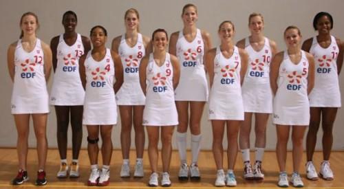 Lyon BF 2010-2011 © Lyon Basket Féminine
