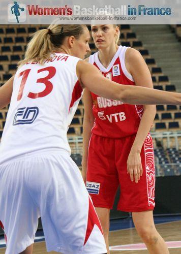 Maria Stepanova and PetraKulichova