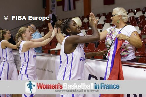 Marie Mane and Fleur Deviller ©  FIBA Europe