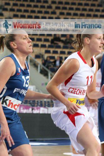 Marion Laborde and Katerina Elhotova