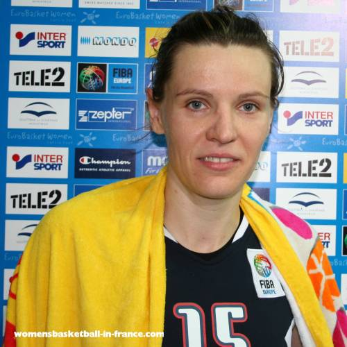 Martina Gyurcsi ©womensbasketball-in-france