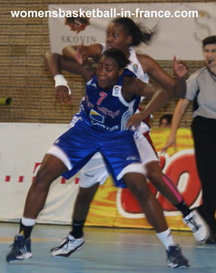 Mary Durojaye  and Luiana Livulo © womensbasketball-in-france.com