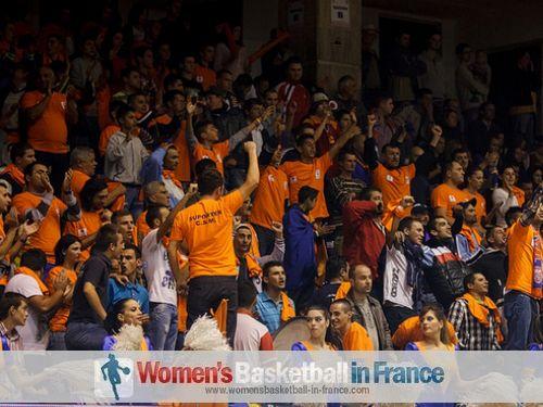 Municipal Targoviste fans  EuroLeague women game