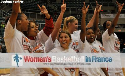 2010 Southland Conference title  with Myriam Igoufe