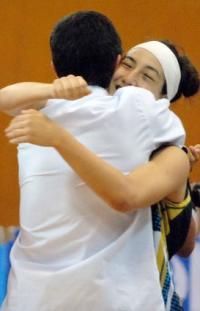 Nadia Flores is so happy © FIBA
