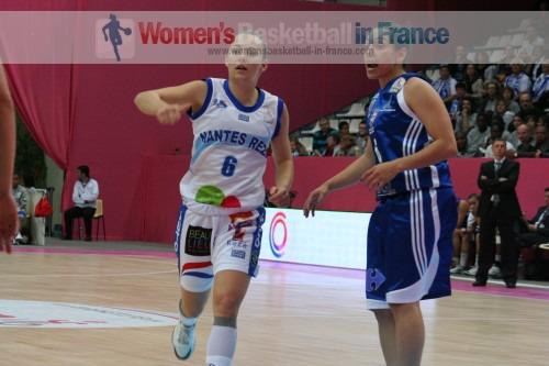 Open LFB 2010 Nantes-Rezé against Lattes-Montpellier