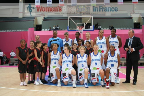 Open LFB 2010 basketball pictures
