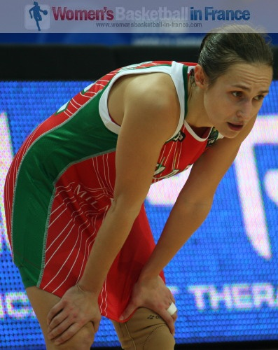 Natallia Marchanka at the 2010 World Championship women © womensbasketball-in-france.com
