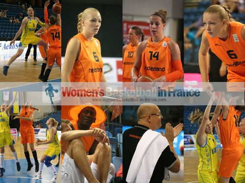 Eline Kasius, Sharon Lammerink , Mariya Tkach, René Spandauw ;
