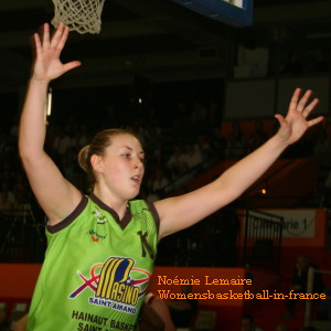 Noémie Lemaire © womensbasketball-in-france.com