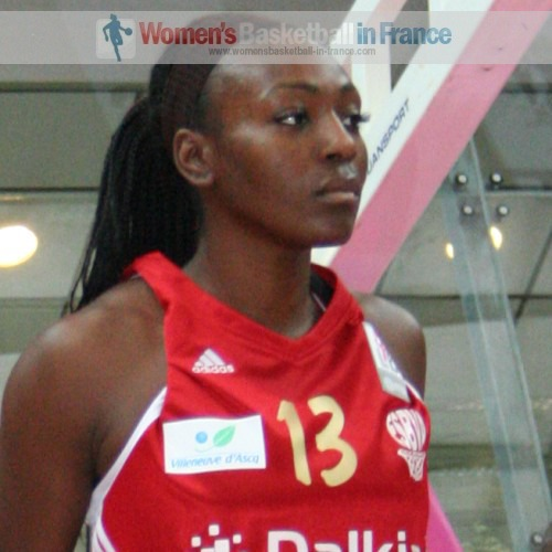 Olayinka Sanni  © womensbasketball-in-france