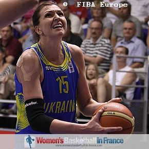 Olena Zherzherunova © FIBA Europe