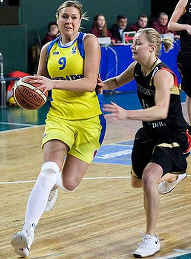Olexandra Gorbunova  ©  FIBA Europe