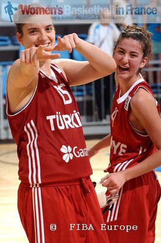 Özge Kavurmacioglu and Olcay Cakir © FIBA Europe / Viktor Rébay