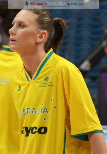 Penny Taylor at the 2010 World Championship women © womensbasketball-in-france.com