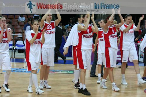 Polish players at EuroBasket Women 2011