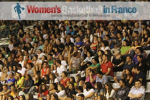 supporters in Matosinhos for 2013 U16 European Championship Division B