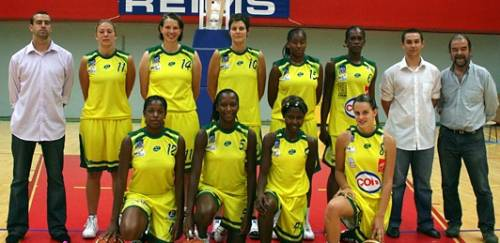 Reims Basket Féminin preseason © RBF