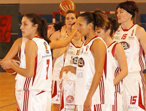 Players from Roche Vendée © PVBC