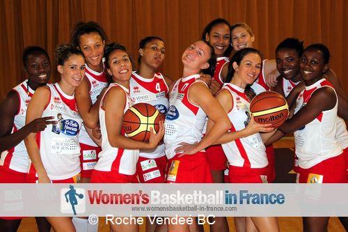 Rochee V endée players 2012 © Rochee V endée BC
