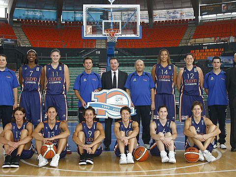 Ros Casares 2009-2010  © roscasaresbasket.com