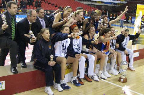 Ros Casares win Copa de la Reina