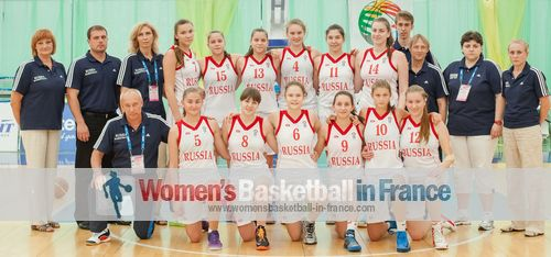 Russia U16 -2013 Women's Basketball  team