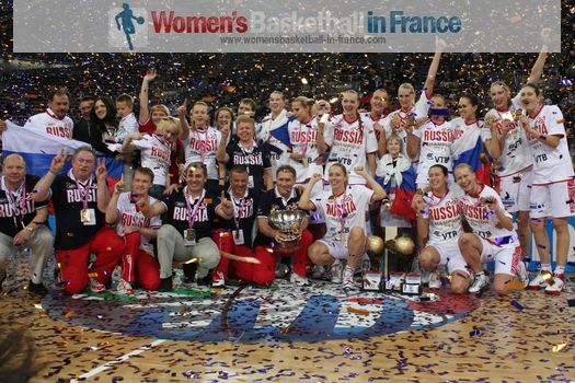 2011 EuroBasket Women Champions - Russia  ©  womensbasketball-in-france.com