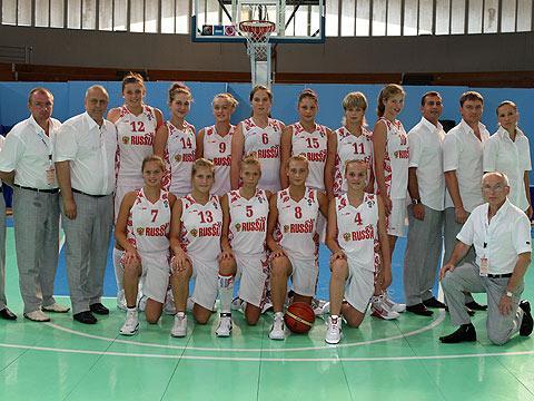 Russia U16 team picture - 2009 © Ciamillo-Castoria