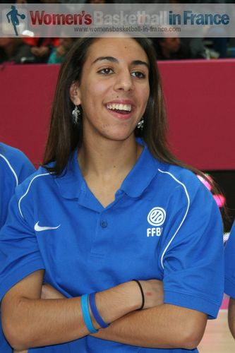 Sabrine Bouzenna  © womensbasketball-in-france.com