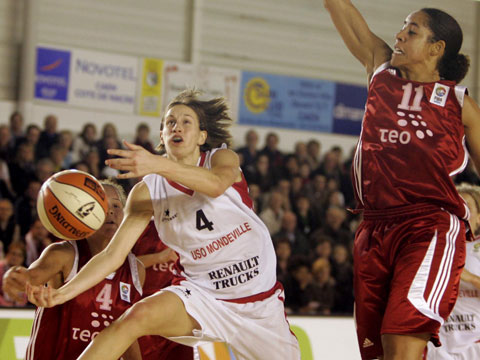 Paoline Salagnac and NyKesha Sales - Fiba Europe