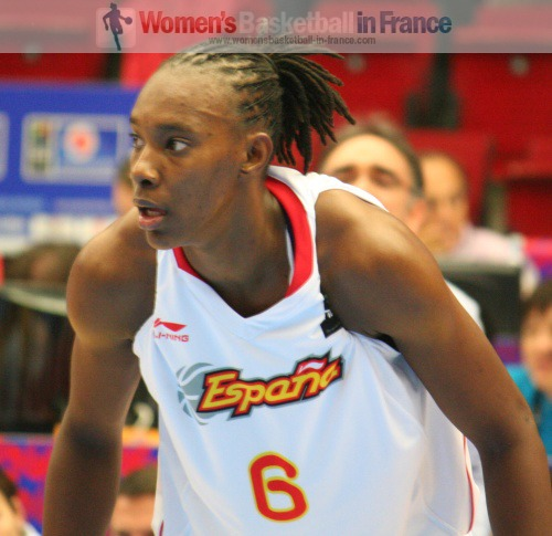 Sancho Lyttle at the FIBA  World Championship Women  © womensbasketball-in-france.com