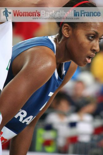 Sandrine Gruda at EuroBasket Women 2011 © womensbasketball-in-france.com