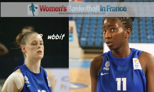 Sarah Chevaugeon and Adja Konteh,