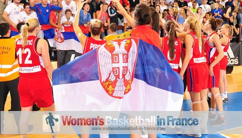 Serbia U18 win bronze in Croatia