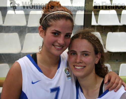 Shira Shecht and Naam Shafir © womensbasketball-in-france.com