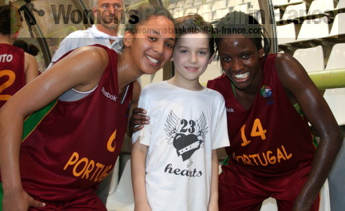 Sofia Da Silva and Maria Correia © womensbasketball-in-france.com
