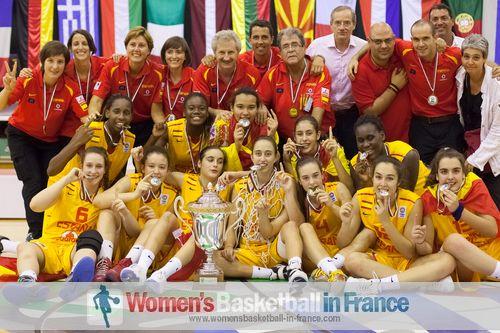 2013 U16 Division A European Champions - Spain