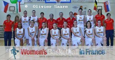 Spain U16 in Poinçonnet (2011)  © Olivier Saare