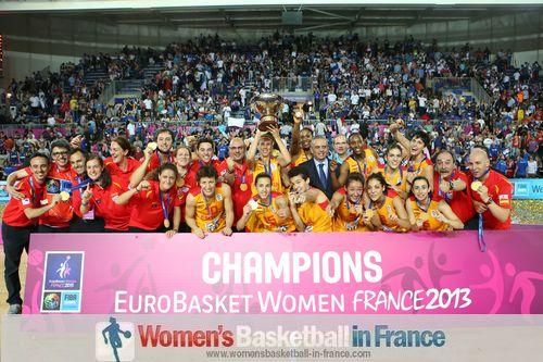 2013 EuroBasket Women Champions - Spain