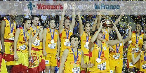 Spain 2013 EuroBasket Women champions