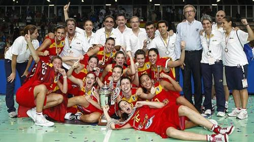 Spain U16 champions of Europe again © Ciamillo-Castoria