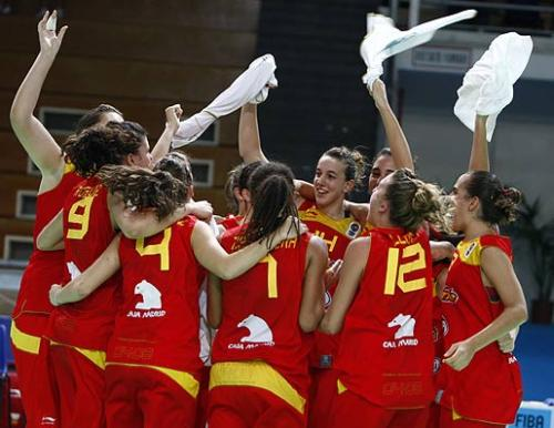 Spain qualify for the 2009 U16 European Championship Women ©  Ciamillo-Castoria