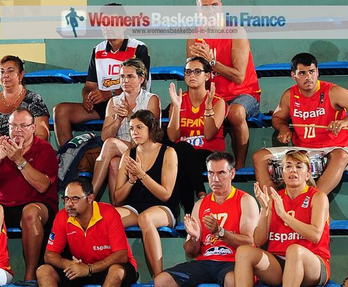 Spanish Supporters in Croatia for the 2013 U18 European Championship for Women 2013